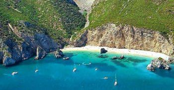 Praia Ribeiro do Cavalo Aluguer Barco Sesimbra Setubal Boatkoncept oceanlife