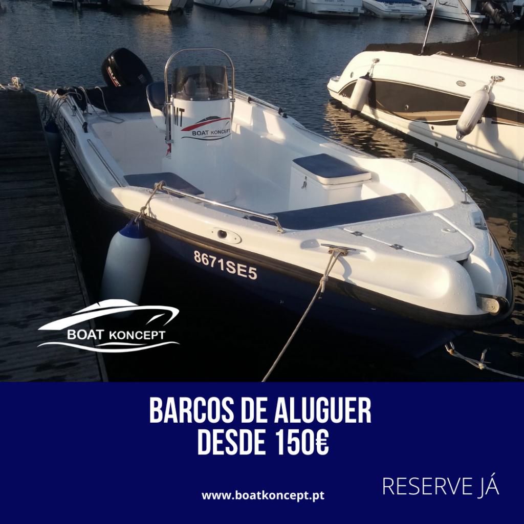 aluguer barcos boatkoncept